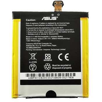 باتری موبایل ایسوس مدل C11-A68 با ظرفیت 2140mAh مناسب برای گوشی موبایل ایسوس PadFone 2