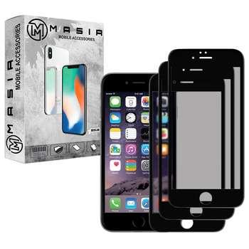 محافظ صفحه نمایش حریم شخصی مسیر مدل MGFPV-3 مناسب برای گوشی موبایل اپل iPhone 7Plus/8Plus  بسته سه عددی