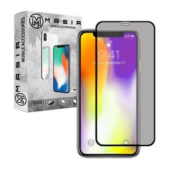 محافظ صفحه نمایش حریم شخصی مسیر مدل MGFPV-1 مناسب برای گوشی موبایل اپل iPhone XS MAX
