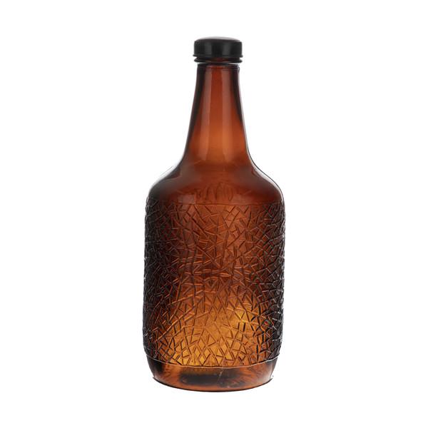 بطری شیشه ای کد 003 حجم 1.5 لیتر
