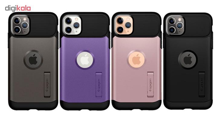 کاور اسپیگن مدل Slim Armor مناسب برای گوشی موبایل اپل iPhone 11 Pro