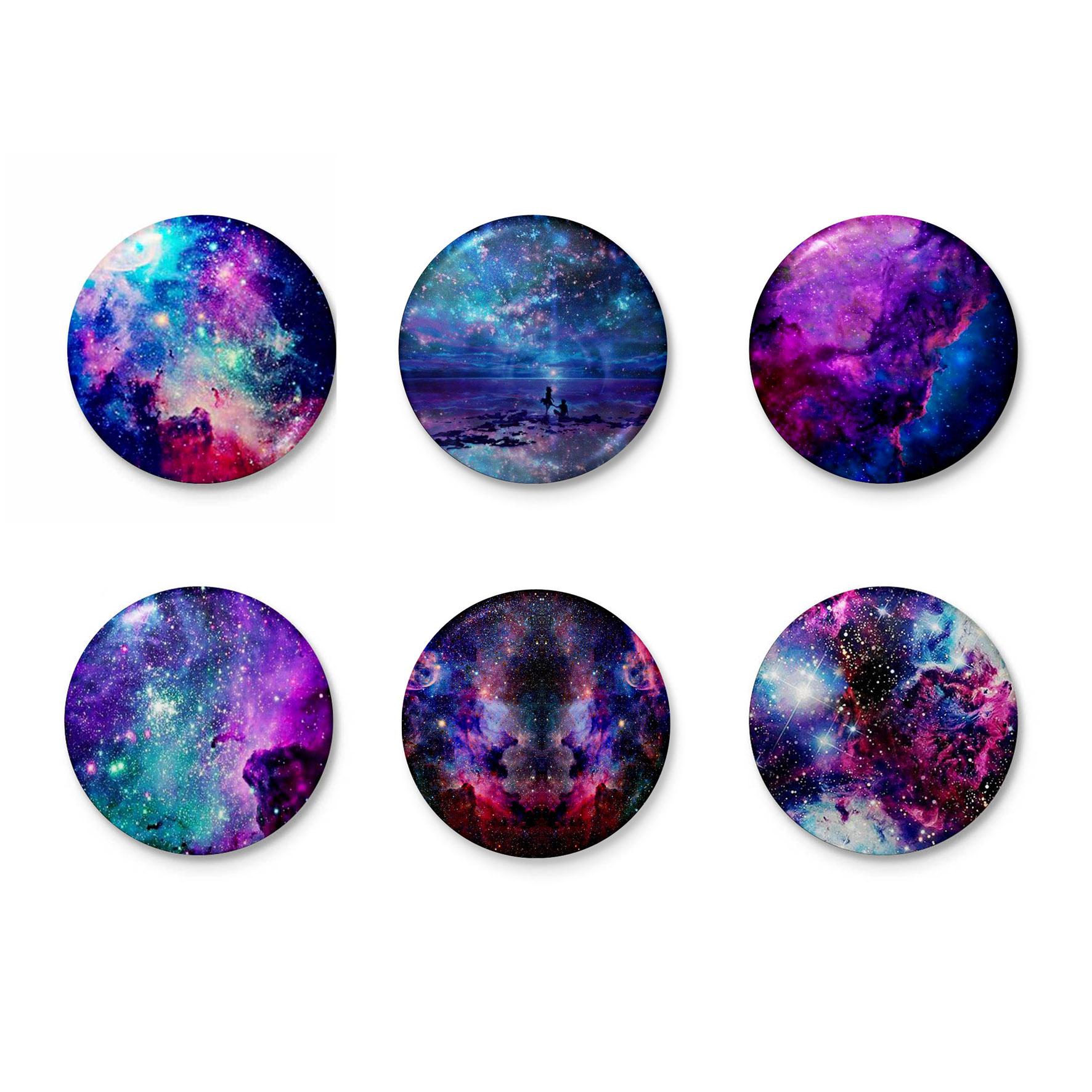 پیکسل طرح کهکشان کد 15001 مجموعه 6 عددی