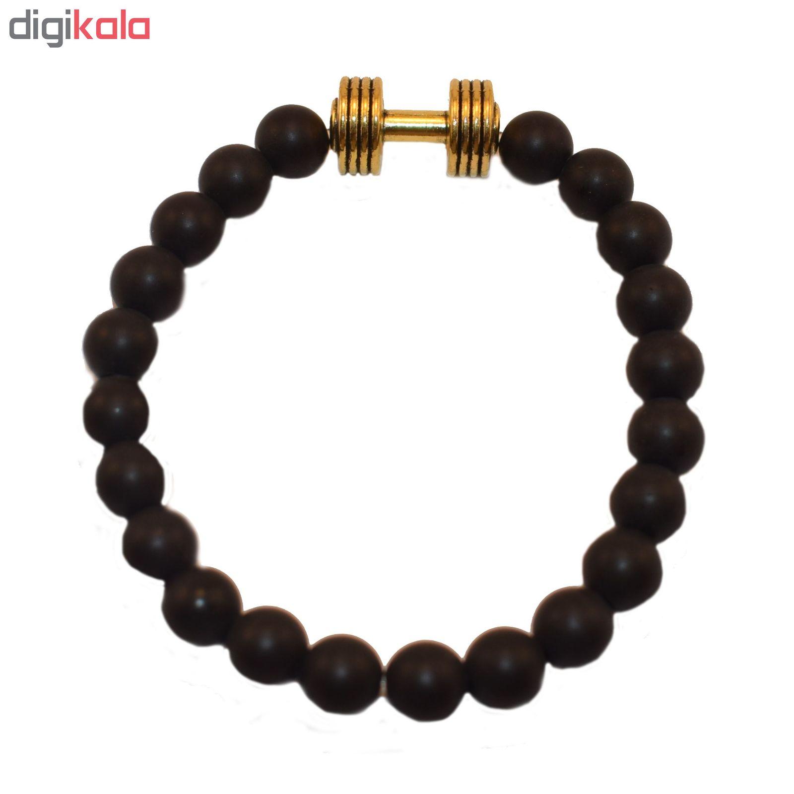 دستبند مردانه طرح دمبل کد M main 1 1