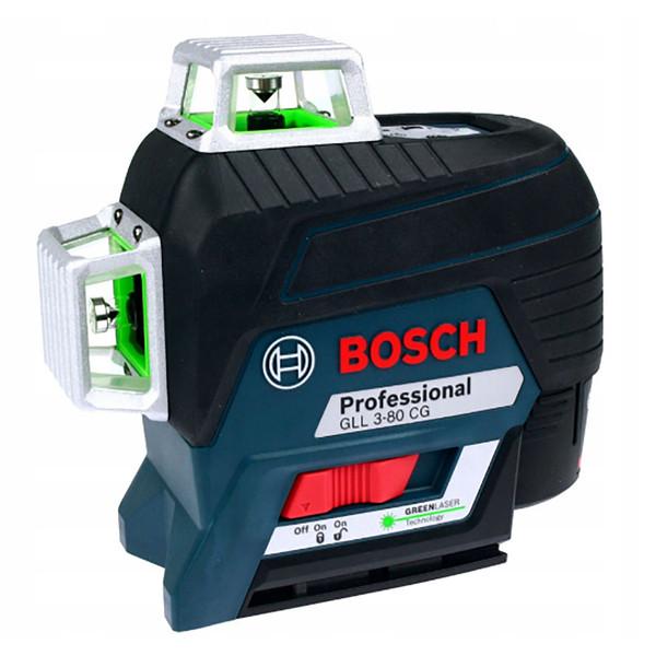 تراز لیزری نور سبز بوش مدل GLL 3-80 CG L-BOXX