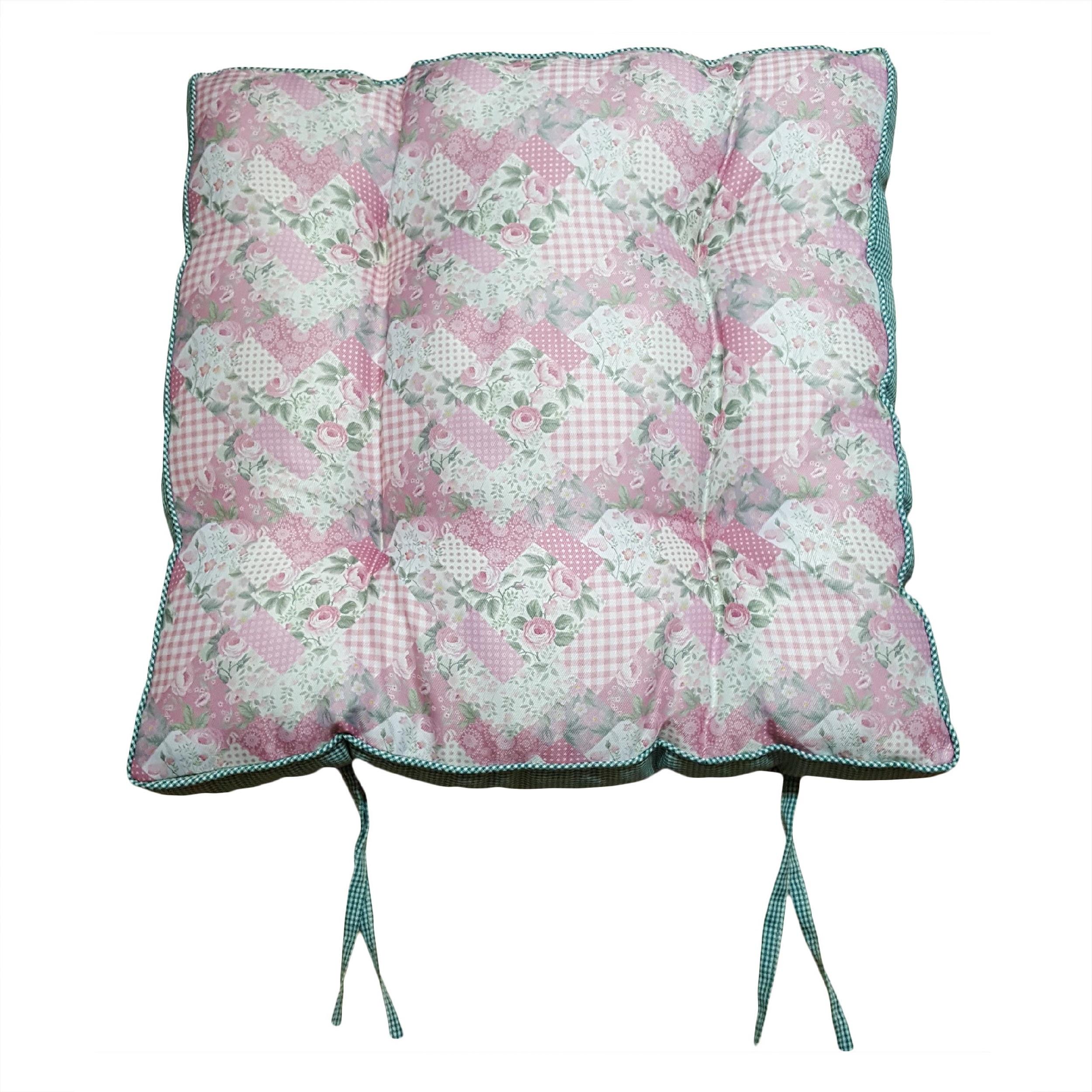 تشک صندلی طرح گل 3