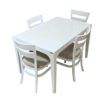 میز و صندلی ناهار خوری اسپرسان چوب کد Sm58