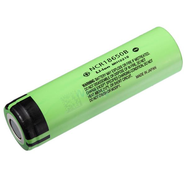 باتری لیتیوم یون پاناسونیک مدل NCR18650B ظرفیت 3400 میلی آمپر ساعت