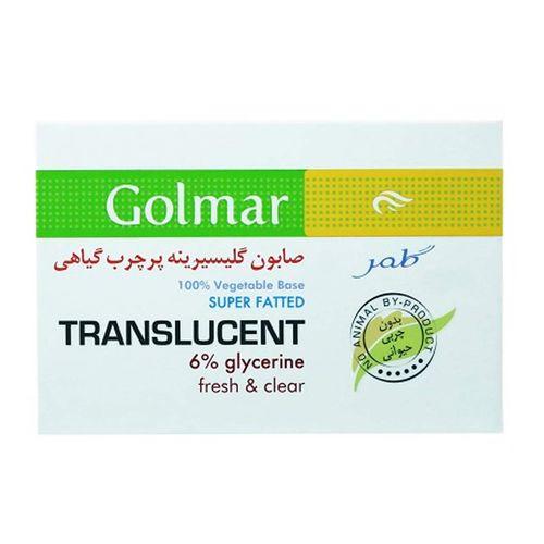 صابون شستشو گلمر مدل Translucent وزن 100 گرم
