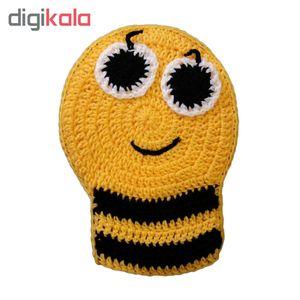 لیف حمام طرح زنبور عسل