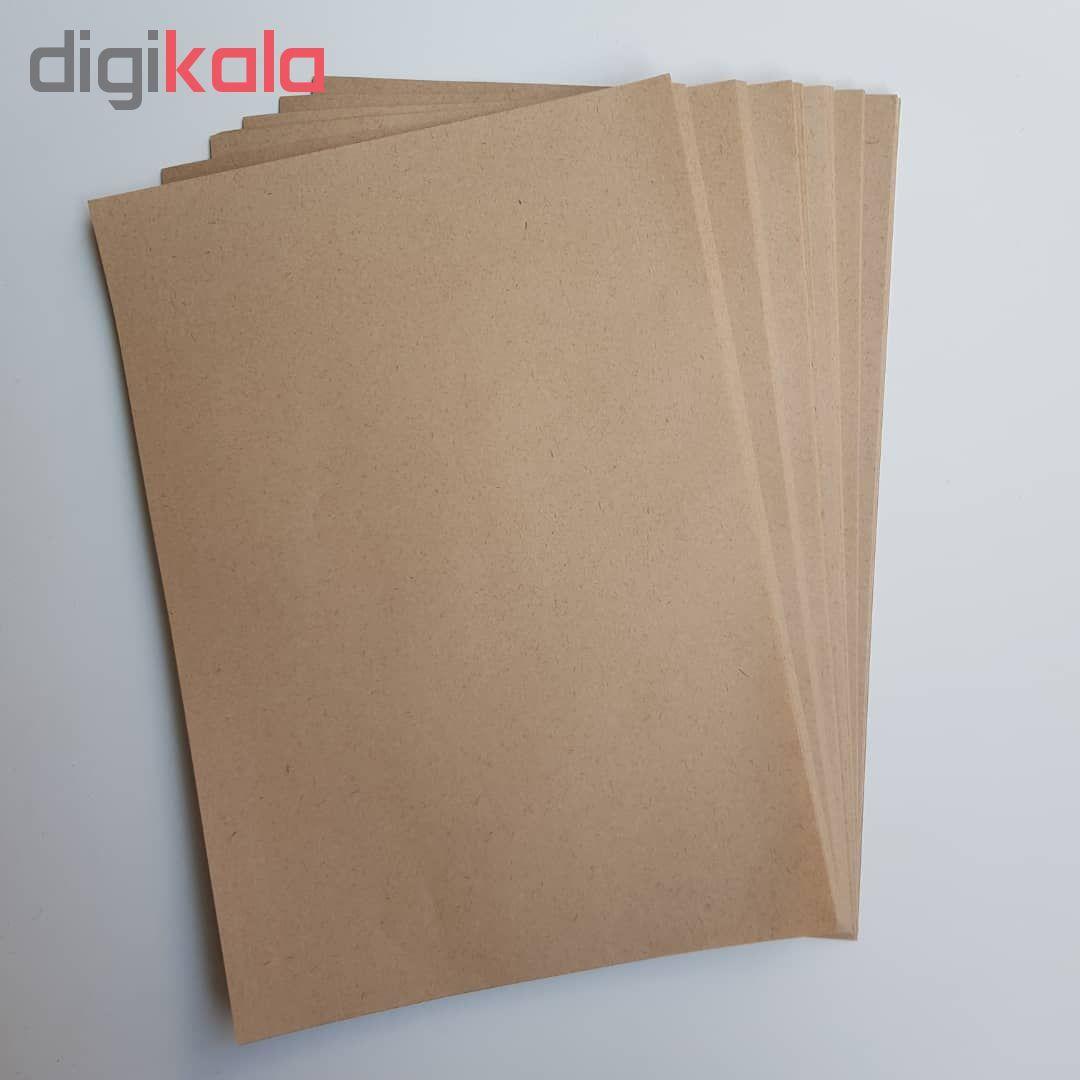 کاغذ کرافت کد 90 بسته 100 عددی main 1 2