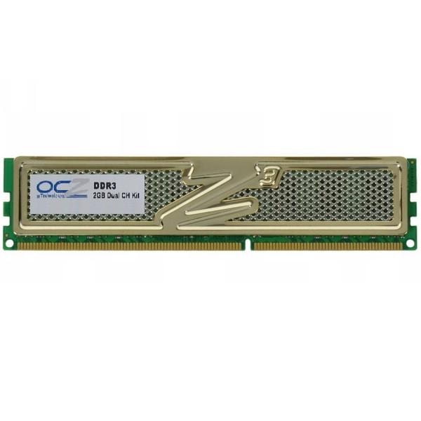 رم دسکتاپ DDR3 تک کاناله 1600 مگاهرتز CL8 او سی زد مدل 3G1600LV ظرفیت 2 گیگابایت