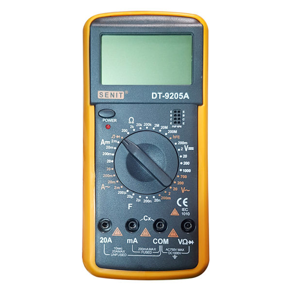 مولتی متر دیجیتال سنیت مدل DT-9205A
