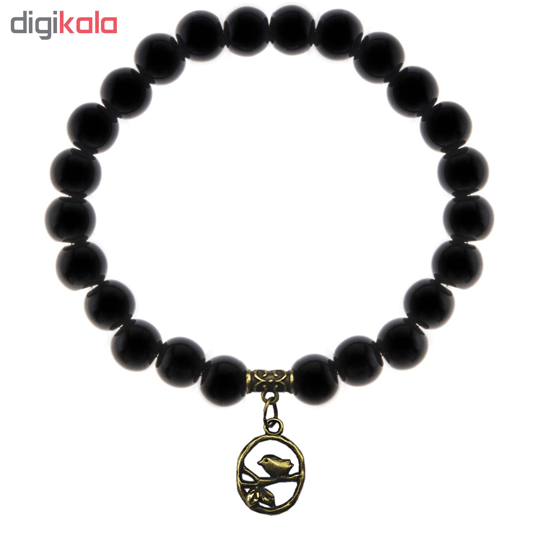 دستبند زنانه لاچو طرح گنجشک کد 2019