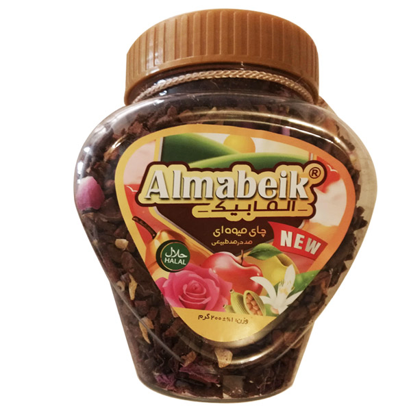 چای میوه ای آلما بیک کد 2890 مقدار 200 گرم