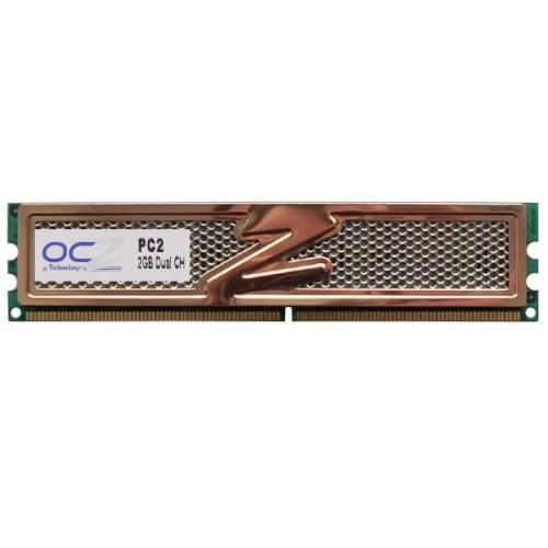 رم دسکتاپ DDR2 تک کاناله 1066 مگاهرتز CL5 او سی زد مدل PC2-8500U ظرفیت 2 گیگابایت