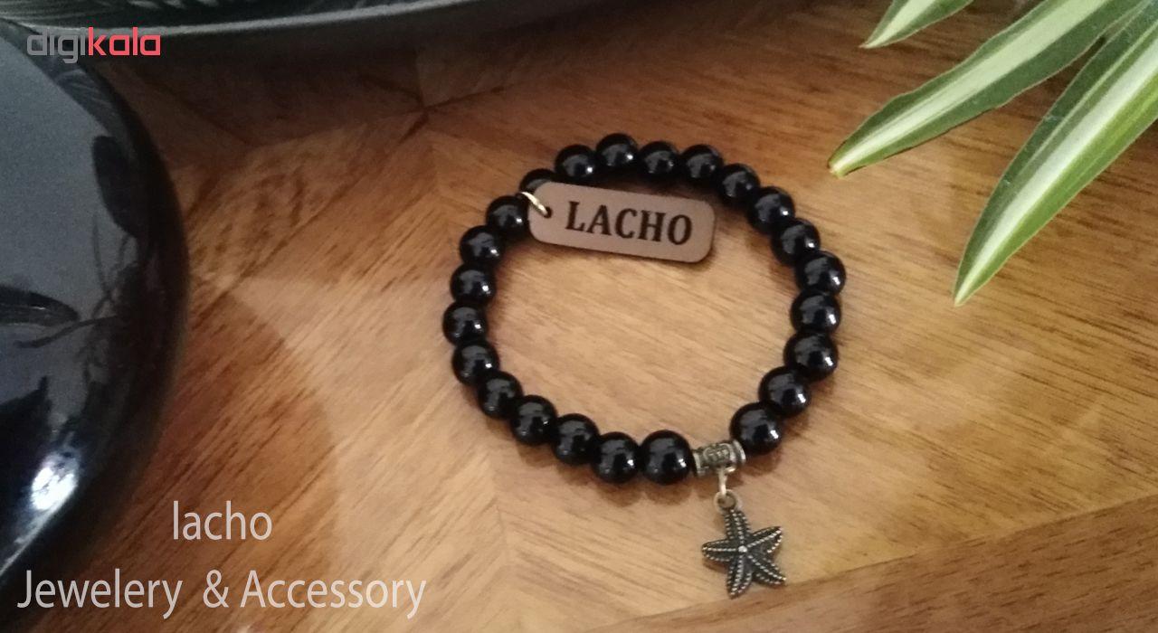 دستبند زنانه لاچو طرح ستاره دریایی کد 2020