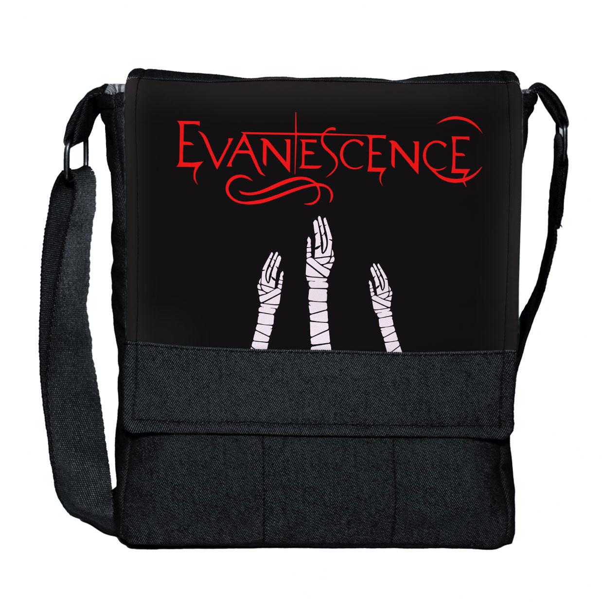 کیف دوشی گالری چی چاپ طرح evanescence کد 65838