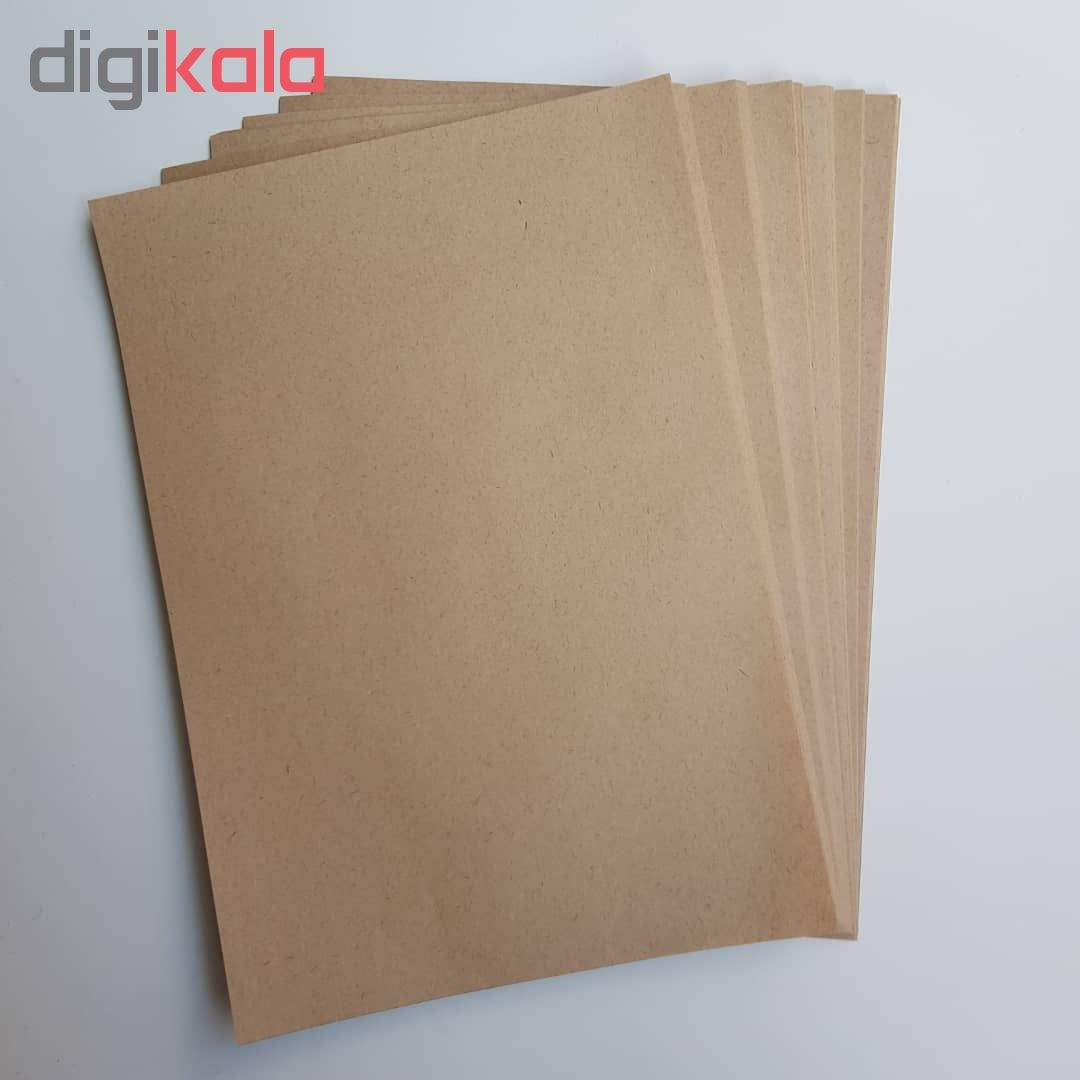 کاغذ کرافت کد 100 بسته 100 عددی main 1 2