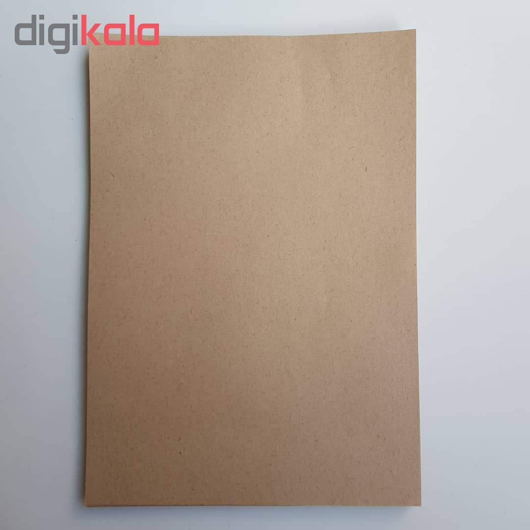 کاغذ کرافت کد 100 بسته 100 عددی main 1 4