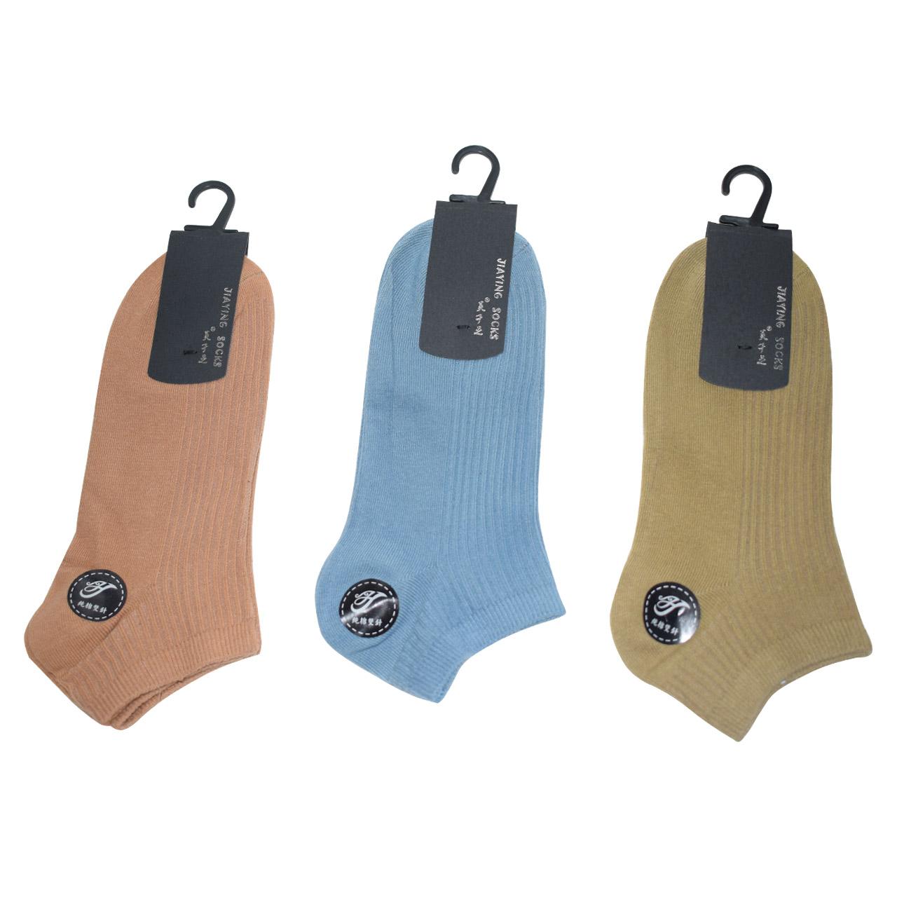 تصویر جوراب مردانه جیاینگ مدل H مجموعه 3 عددی
