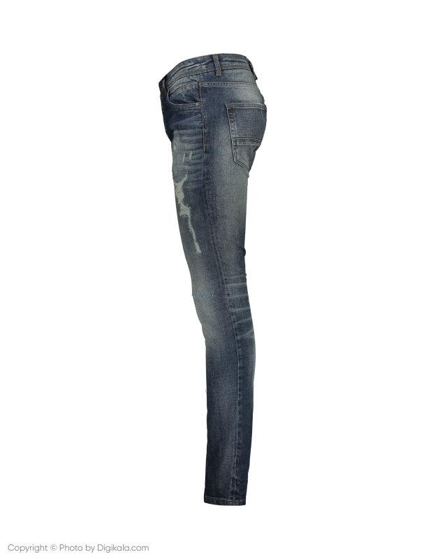 شلوار جین مردانه او وی اس مدل 008723085-BLUE