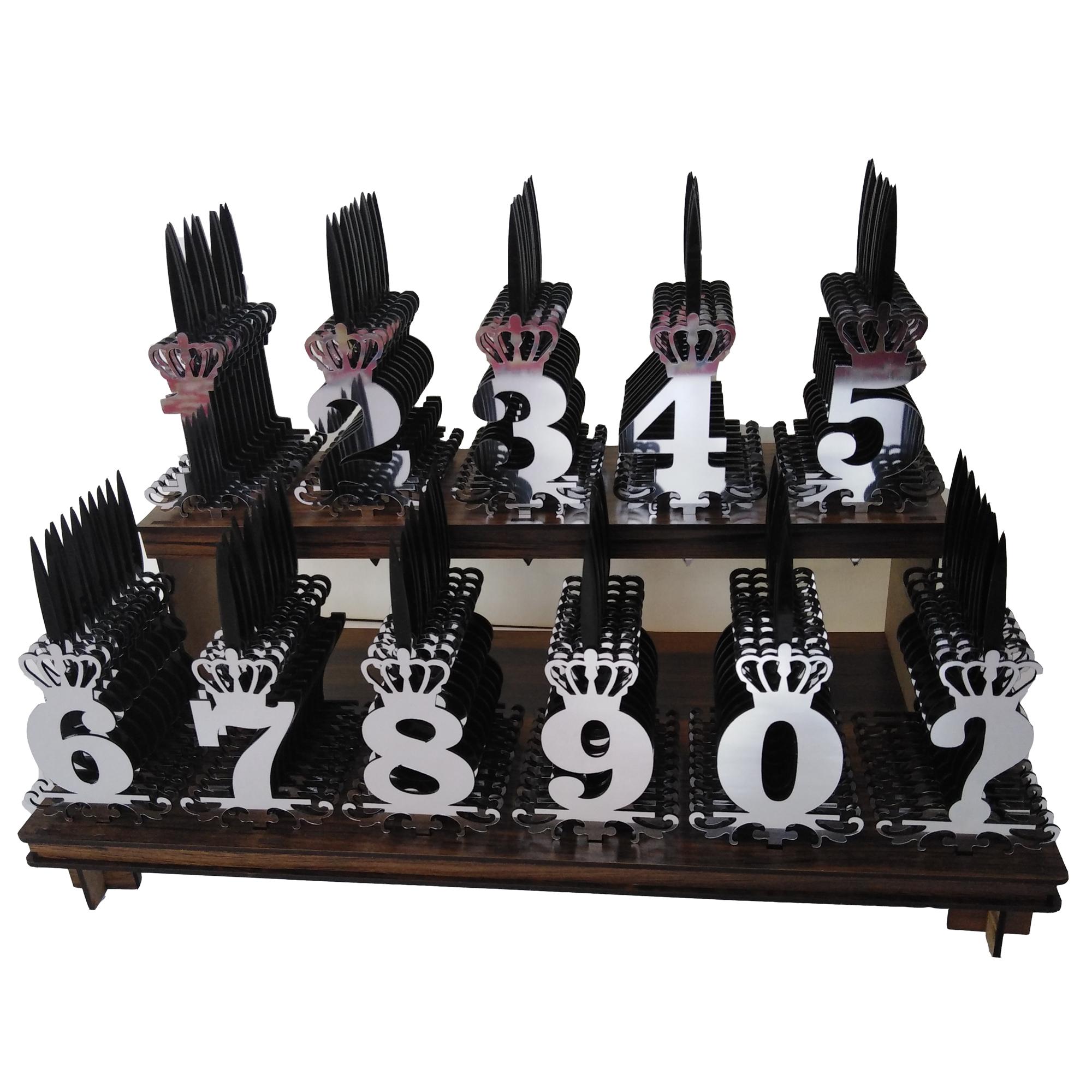 تاپر کیک مدل ma832 مجموعه ۱۱۰ عددی