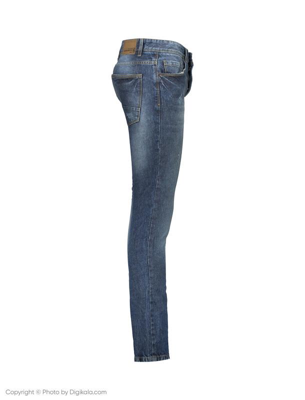 شلوار جین مردانه او وی اس مدل 008722613-BLUE