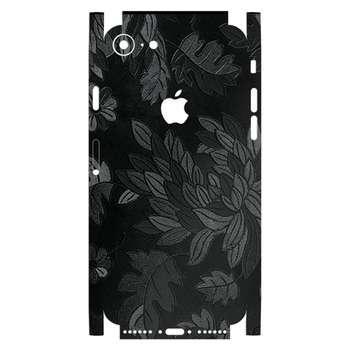 برچسب پوششی ماهوت مدل Black-Wild-Flower-Fiber مناسب برای گوشی اپل iPhone 7