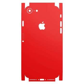 برچسب پوششی ماهوت مدل Full skin-RED-Matte مناسب برای گوشی اپل iPhone 7