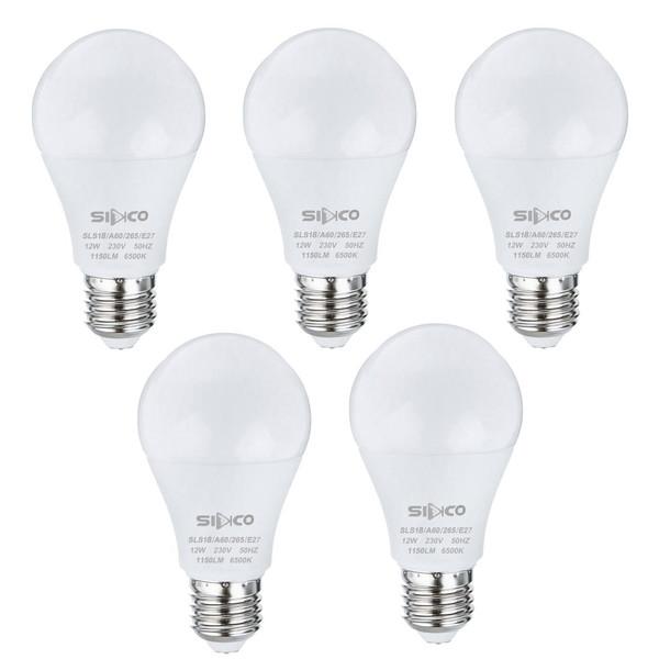 لامپ 18 وات سیدکو مدل SLS18 پایه E27 بسته 5 عددی