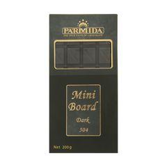 شکلات تلخ پارمیدا مدل Mini Board مقدار 200 گرم