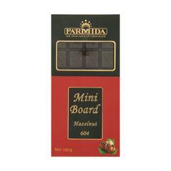 شکلات فندقی پارمیدا مدل Mini Board مقدار 185 گرم