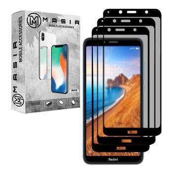 محافظ صفحه نمایش حریم شخصی مسیر مدل MGFPV-3 مناسب برای گوشی موبایل شیائومی Redmi 7A بسته سه عددی