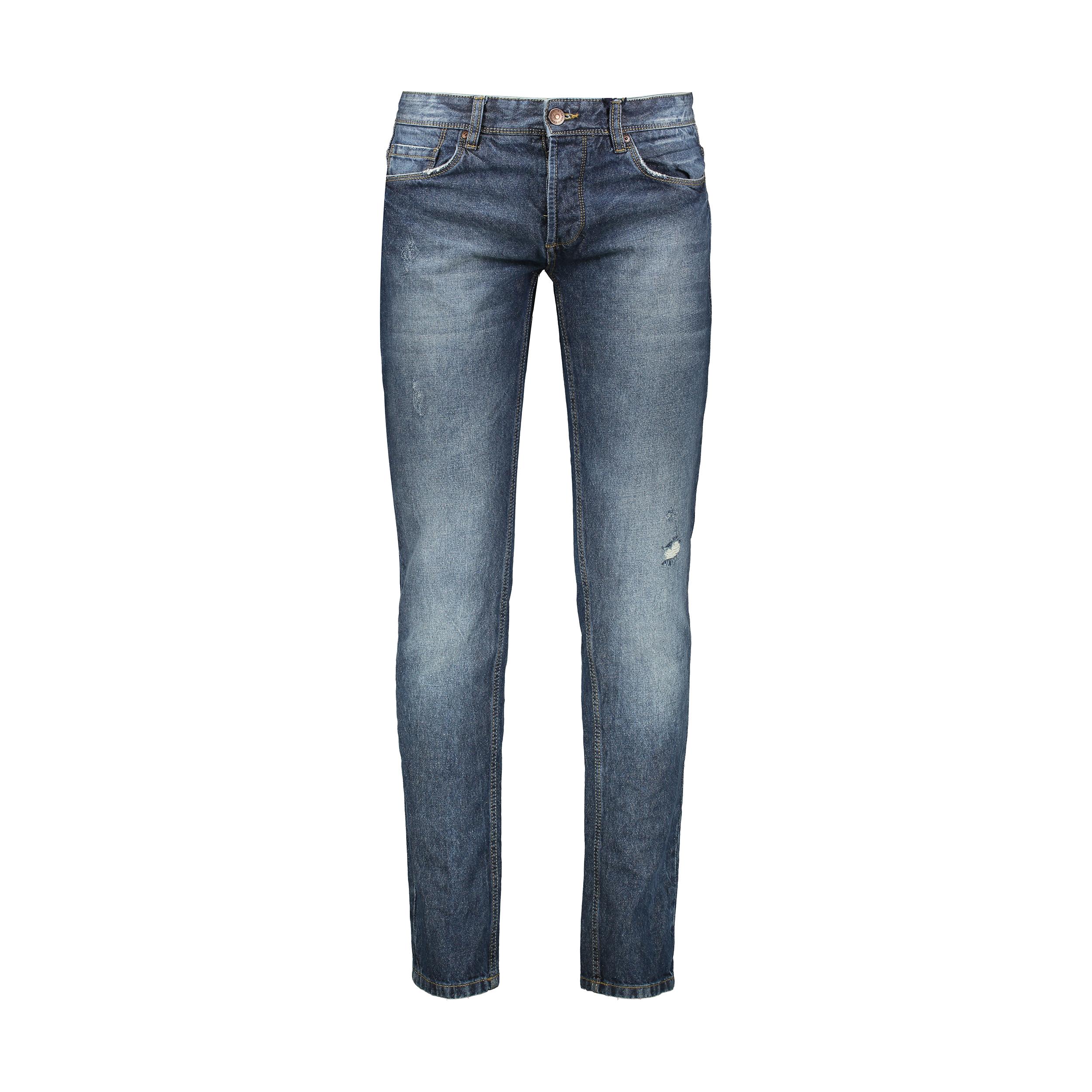شلوار جین مردانه او وی اس مدل 008722619-BLUE
