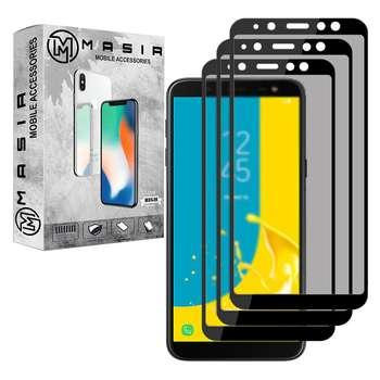 محافظ صفحه نمایش حریم شخصی مسیر مدل MGFPV-3 مناسب برای گوشی موبایل موبایل سامسونگ Galaxy J4 Plus بسته سه عددی