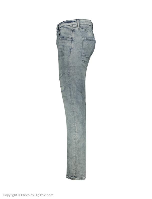 شلوار جین مردانه او وی اس مدل 008723097-BLUE