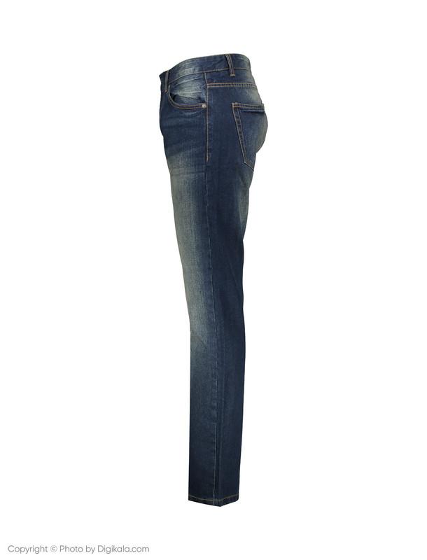 شلوار جین مردانه او وی اس مدل 008722631-BLUE