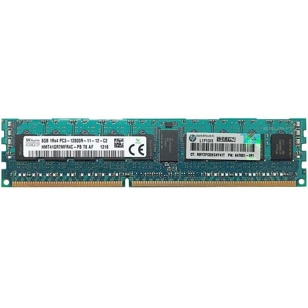 رم سرور DDR3 تک کاناله 1600 مگاهرتز CL11 اس کی هاینیکس مدل HMT41GR7AFR4C-PB T8 AF ظرفیت 8 گیگابایت