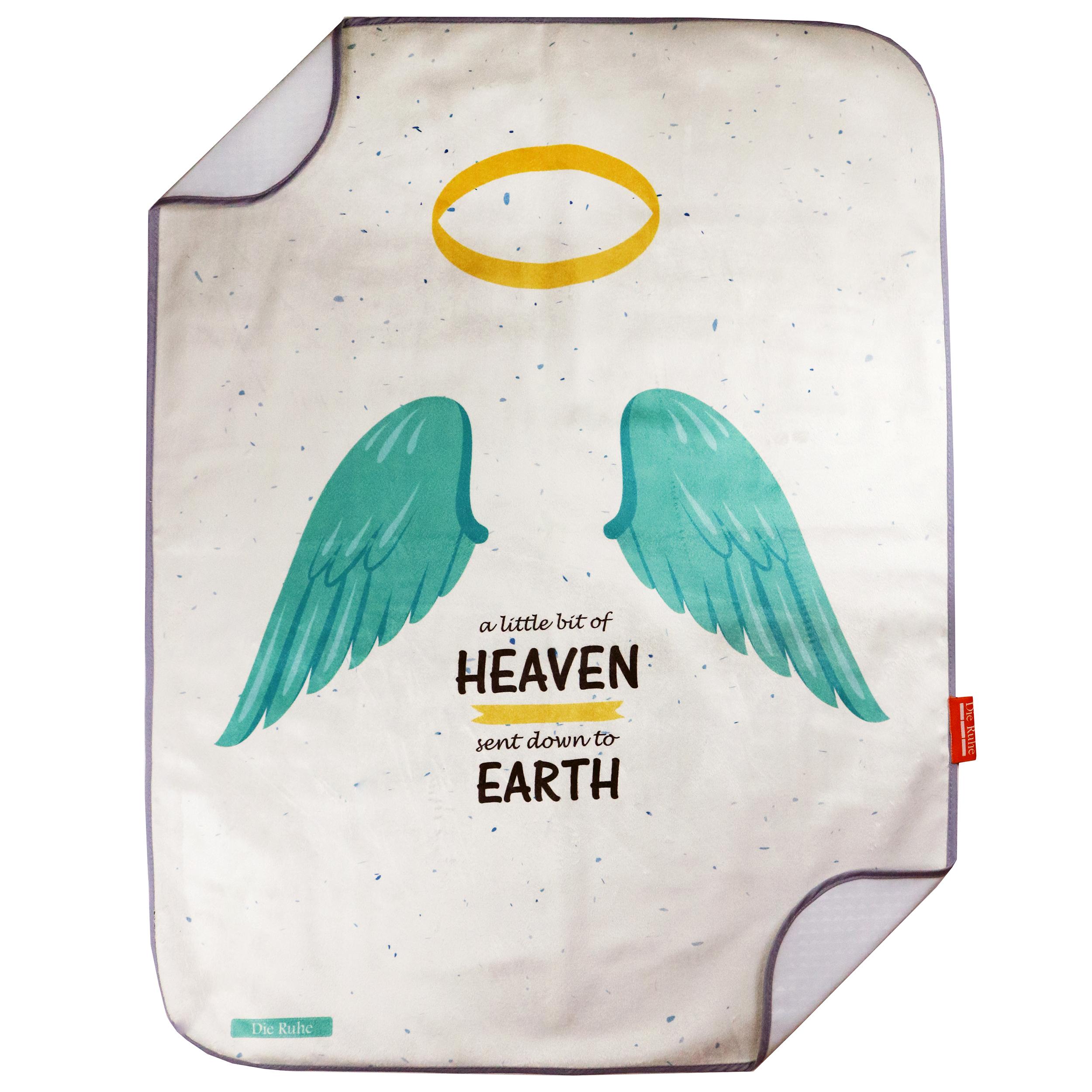 زیرانداز تعویض نوزاد دی روحه مدل Heaven