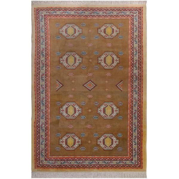 فرش دستبافت شش و نیم متری فرش هریس کد 1014812