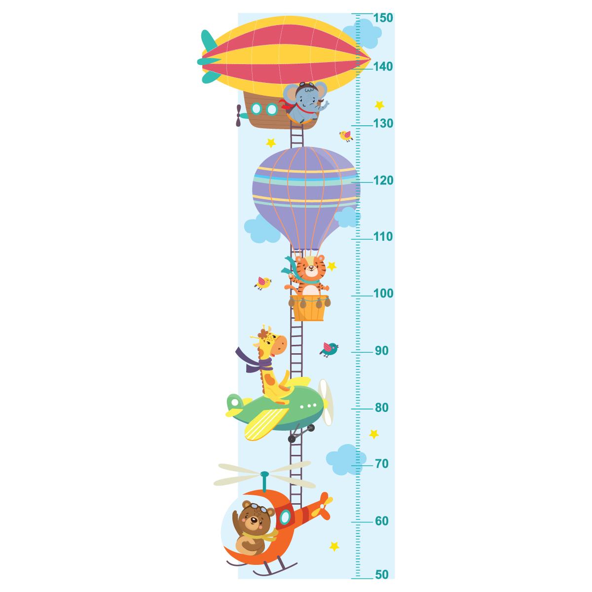 استیکر اندازه گیری قد کودک مدل HC-09