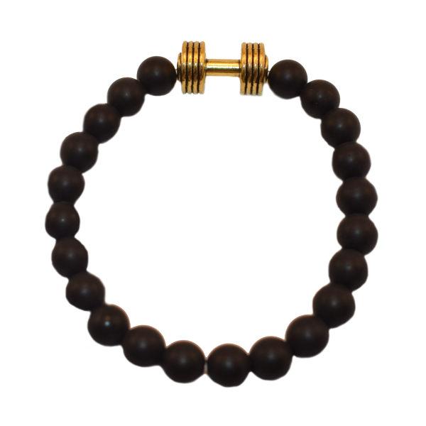 دستبند مردانه طرح دمبل کد M
