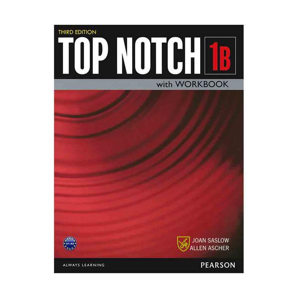 کتاب Top Notch 3rd 1B  اثر Joan Saslow and Allen Ascher انتشارات جنگل