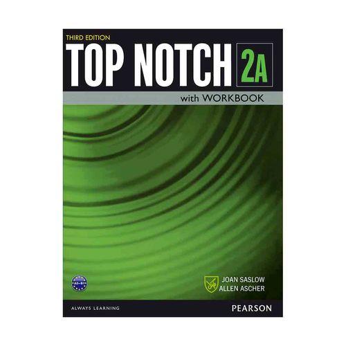 کتاب Top Notch 3rd 2A  اثر Joan Saslow and Allen Ascher انتشارات جنگل