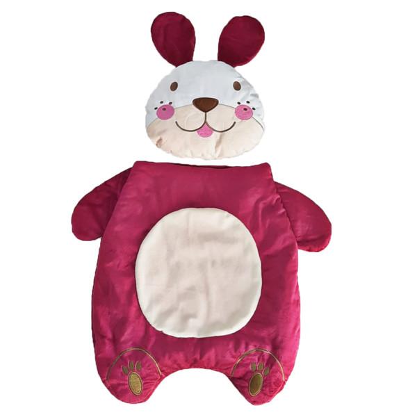 تشک تعویض نوزاد طرح خرگوش مجموعه 2 عددی
