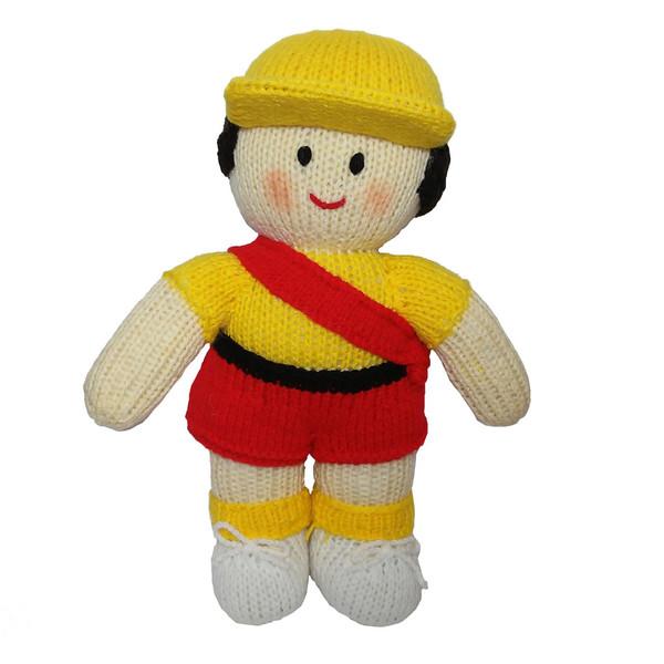 عروسک بافتنی مدل D100