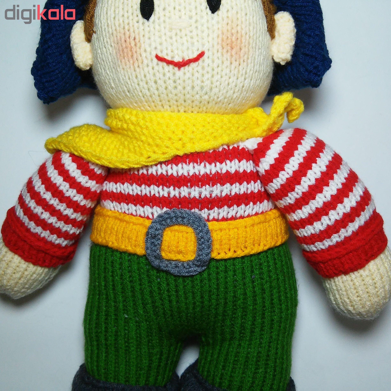 خرید                      عروسک بافتنی مدل D104