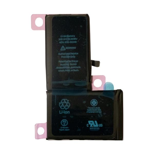 باتری موبایل مدل 00346-616 ظرفیت 2716 میلی آمپر ساعت مناسب برای گوشی موبایل اپل iphone x