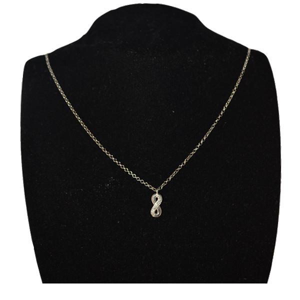 گردنبند نقره زنانه نومینیشن کد 010-146201