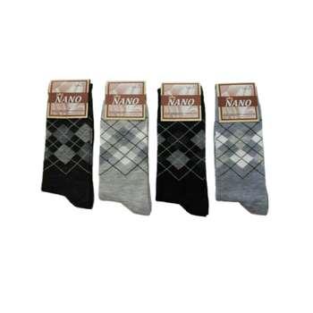 جوراب مردانه کد 001 مجموعه 4 عددی